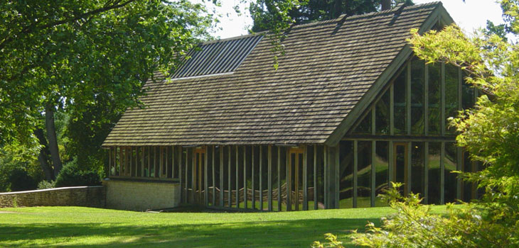 The Great Oak Hall is set within the stunning grounds of Westonbirt Arboretum