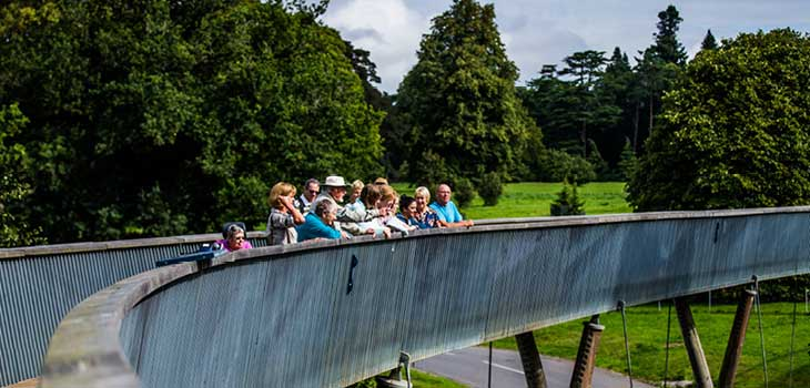 We encourage participation in activities to learn more about our environment - such as guided tours